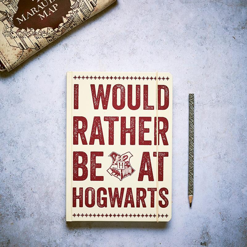 Harry Potter A5 Notebook - Hogwarts