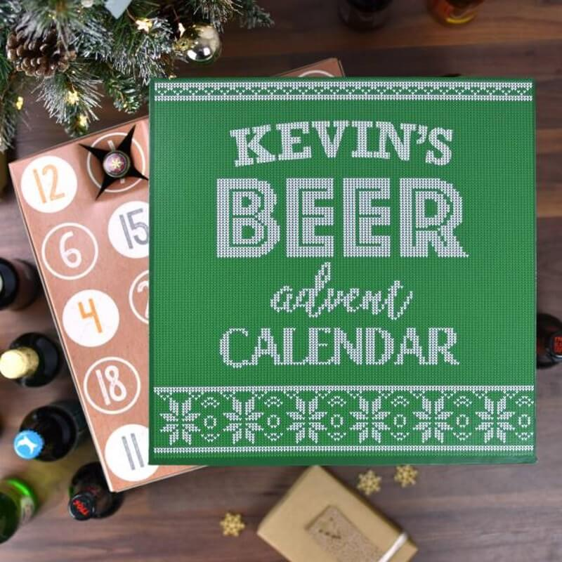 Personalised Beer Advent Calendar
