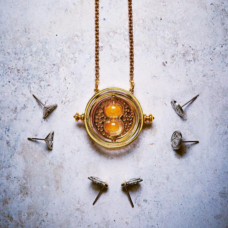 Harry Potter Spinning Time Turner Necklace