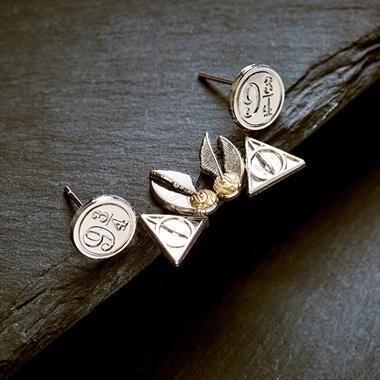 Harry Potter Earrings - Set Of 3
