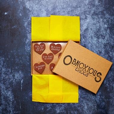 Obnoxious Chocolates - Valentine