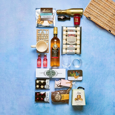 Personalised Festive Food & Drink Hamper