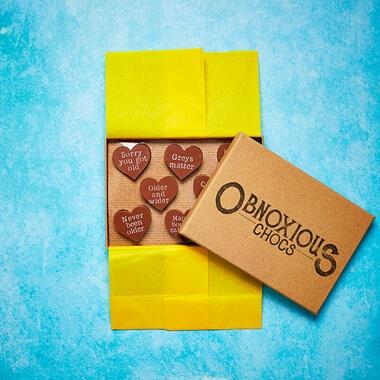 Obnoxious Chocolates - Birthday