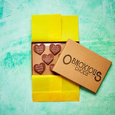 Obnoxious Chocolates - Engagement