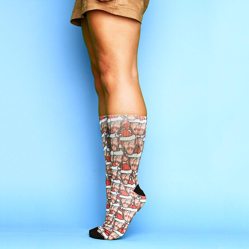 Personalised Santa Me All Over Print Socks