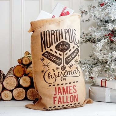 Personalised Grenville Christmas Sack