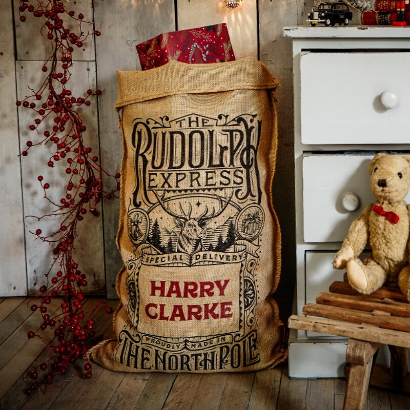 Personalised Whittington Christmas Sack