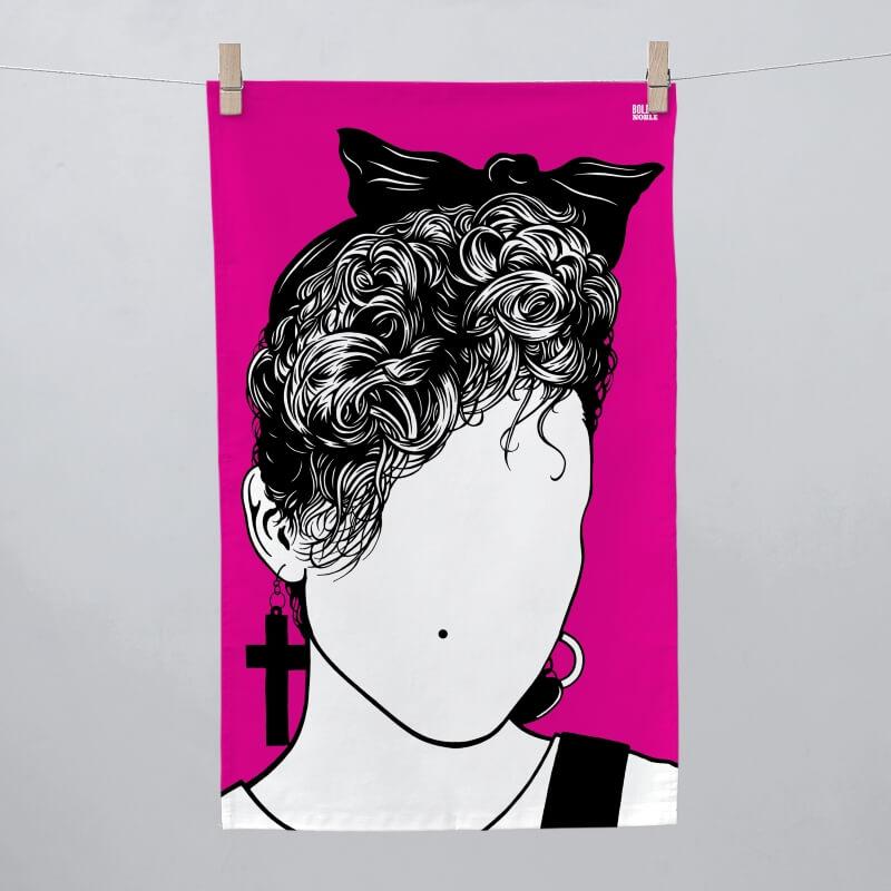 Madonna Tea Towel