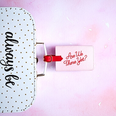 Yes Studio Are We There Yet Luggage Tag