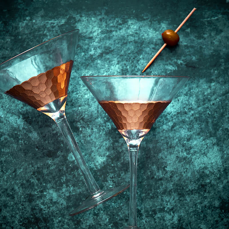 Astrid Cocktail Glasses - Set Of 2
