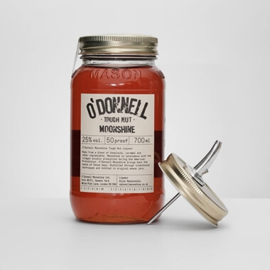 O'Donnell Moonshine Tough Nut Gift Set With Pouring Lid
