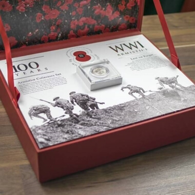 The Armistice Limited Edition Royal Mint Centenary Collection - Silver