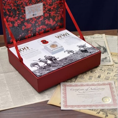 The Armistice Limited Edition Royal Mint Centenary Collection - Gold