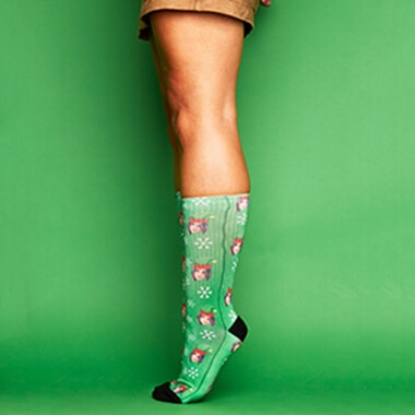 Personalised Elf Me Socks