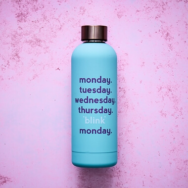 Yes Studio Monday Blink Water Bottle
