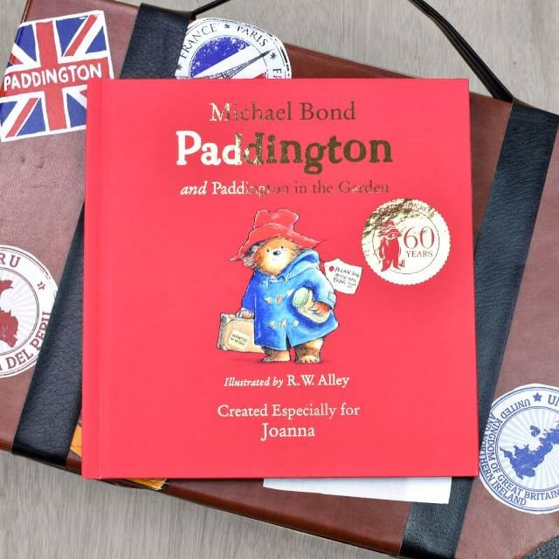 Personalised Paddington Bear Story Book