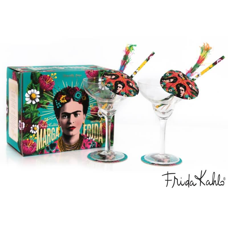 Frida Kahlo Margarita Cocktail Set