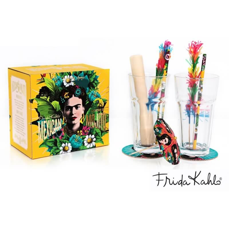 Frida Kahlo Mojito Cocktail Gift Set