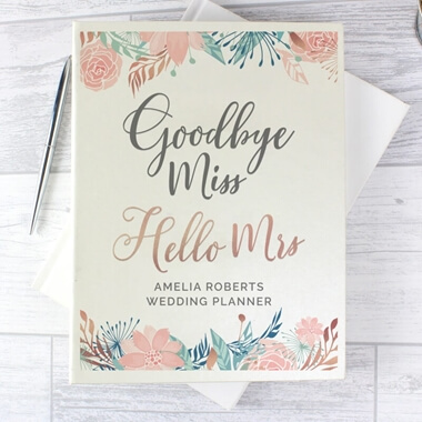 Personalised Wedding Planner