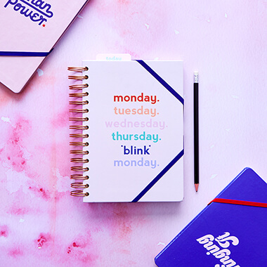 Yes Studio Monday Blink Planner