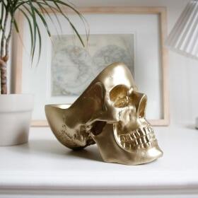 Skull Tidy - Gold