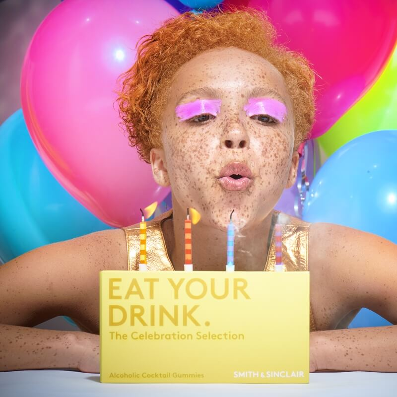 Eat Your Drink - The Celebration Alcoholic Gummies