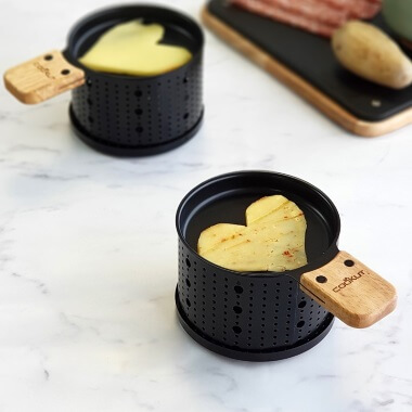 Lumi - Raclette Candle Heaters And Non-stick Pans For Two