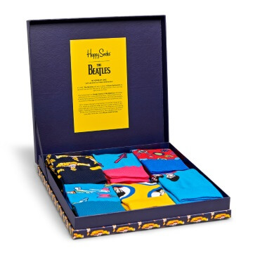 Happy Socks - The Beatles Collector Box Of 6