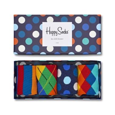 Happy Socks - Polka Dot Box Of 4