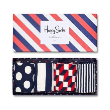 Happy Socks - Stripe Box Of 4