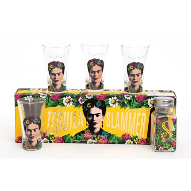 Frida Kahlo Tequila Slammer Set