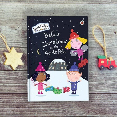 Personalised Ben & Holly Christmas at the Northpole Book