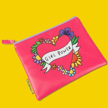 Happy News Girl Power Large Pouch