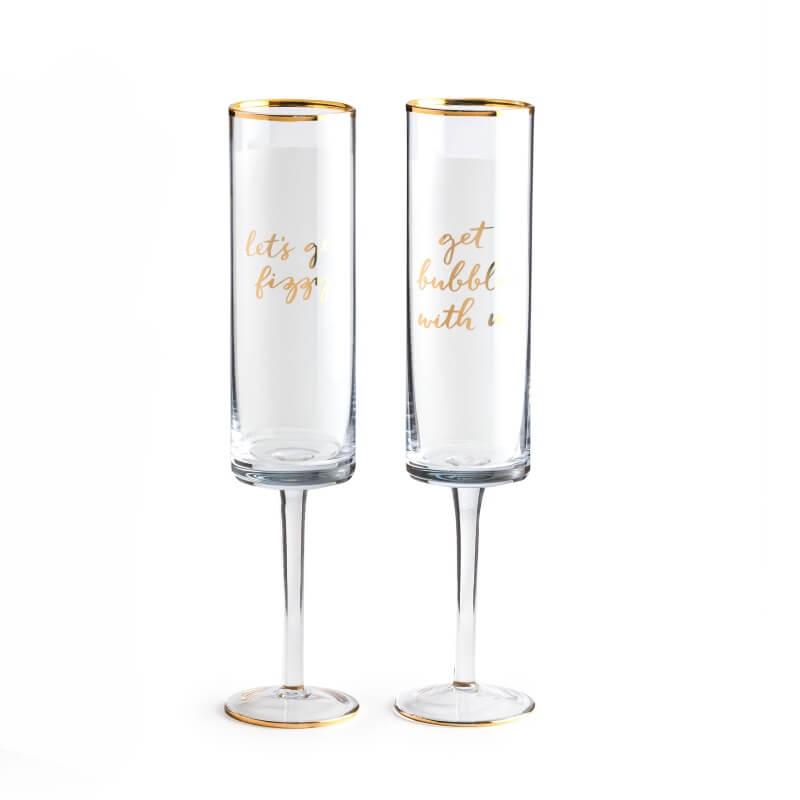 Brunch Champagne Flutes