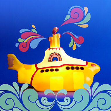 Beatles Yellow Submarine Light