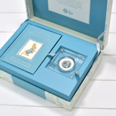 Limited Edition Tale of Peter Rabbit Royal Mint Gift Box
