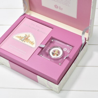 Limited Edition The Flopsy Bunnies Royal Mint Gift Box