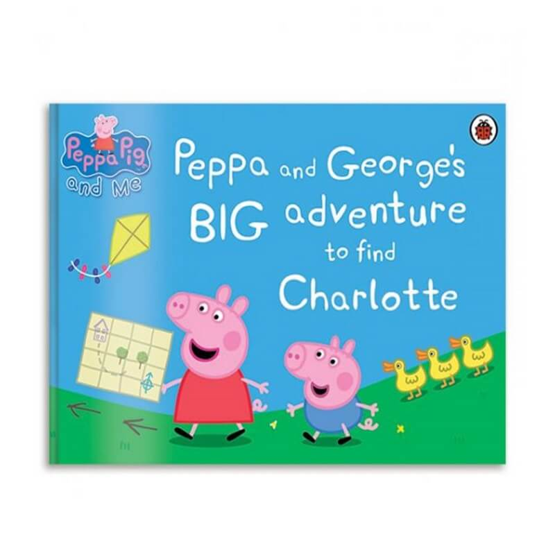 Personalised Peppa Pig's Big Adventure Book