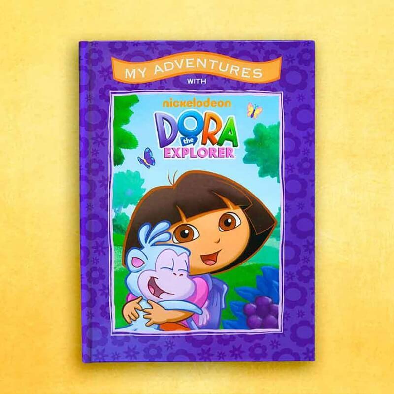 Personalised Dora The Explorer Adventure Book