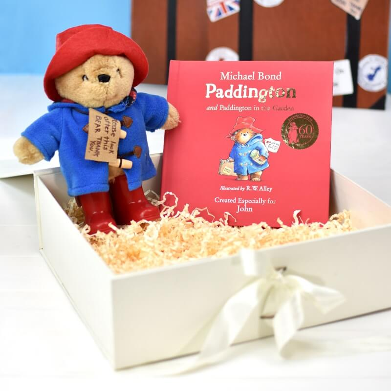 Personalised Paddington Bear Book and Plush Toy Gift Set