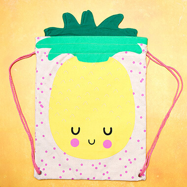 Hi Kawaii Pineapple Back Pack