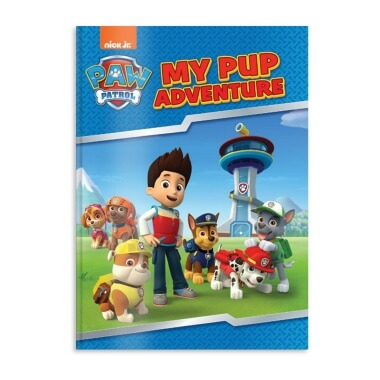 Personalised PAW Patrol Pup Adventure Book