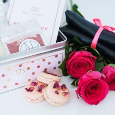 Macaron Making Kit - Raspberry And Damask Rose