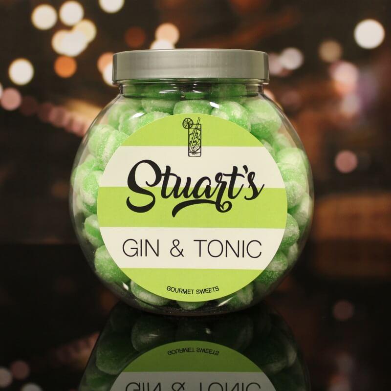 Personalised Gin & Tonic Sweet Jar