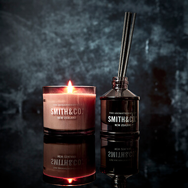 Smith & Co Tabac & Cedarwood Candle & Diffuser Set