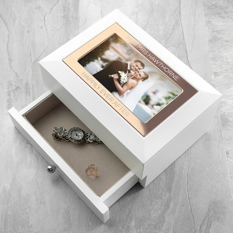Personalised Photograph Jewellery Chest