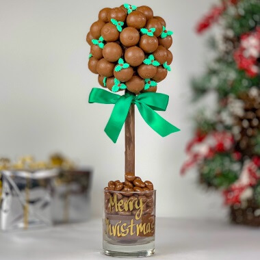Personalised Lindor And Holly Tree