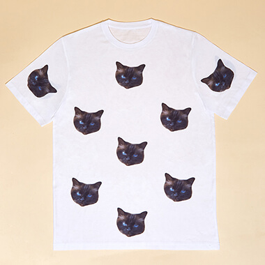 Personalised Cat Face Pyjamas