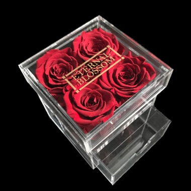 One Year Roses Make Up Box - 4 Piece