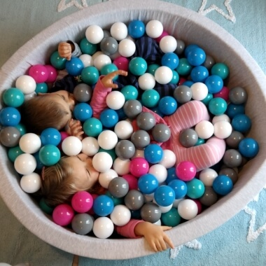 Children's Soft Jersey Ball Pit - Small